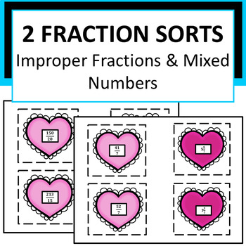 Fractions, Improper Fraction to Mixed Number & Reducing Fr