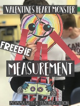 FREEBIE Valentines Measurement Monster