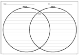 FREEBIE! Venn Diagram - Compare and contrast Differentiated