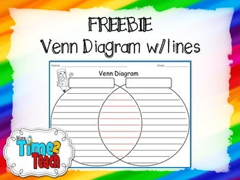Freebie venn diagram wlines by more time 2 teach tpt freebie venn diagram wlines ccuart Image collections