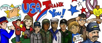 FREEBIE: Veterans Day 37 pc. Clip-Art Set and Card-Making Kit!