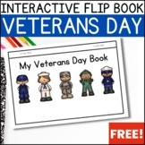 FREEBIE!  Veterans Day Flip Book