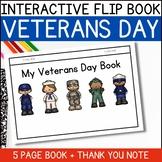 FREE! Non-Fiction Flip Book - Veterans Day