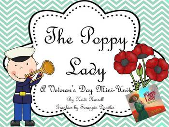 FREEBIE - Veterans Day - The Poppy Lady