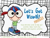FREEBIE Visual Directions and Activity Sequencing FREEBIE