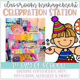 Celebration Station: First Day Of School FREEBIE!