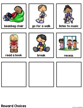 FREEBIE- Visual Reward Charts