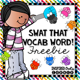 FREEBIE Vocabulary Practice