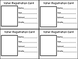 FREEBIE Voter Registration Card