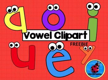 FREEBIE Vowel Clipart