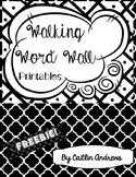 FREEBIE! Walking Word Walls
