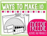 FREEBIE Ways to Make Ten