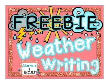 FREEBIE - Weather Writing (Research Booklets)