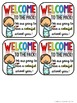 "FREEBIE ""Welcome to the Pack"" tags for pack of crayons"