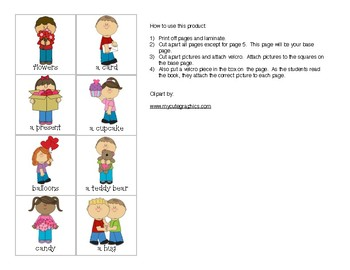 FREEBIE: What Can You Give On Valentine's Day? Adapted Book