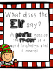FREEBIE!  What Does the Elf Say: PREFIXES