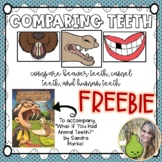 FREEBIE What If You Had Animal Teeth Venn Diagram