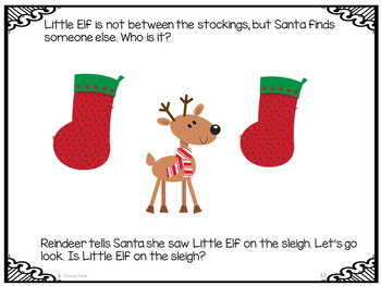 FREEBIE: Where is Little Elf? Printable book for positional concepts