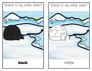 FREEBIE: Where's My Polar Bear? Colour Adapted Book