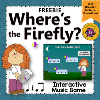 Eighth Notes - Where's the Firefly?  (Interactive Rhythm G