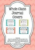 FREEBIE Whole Class Journal Covers