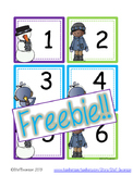 FREEBIE Winter Calendar Cards {ABCC Pattern}
