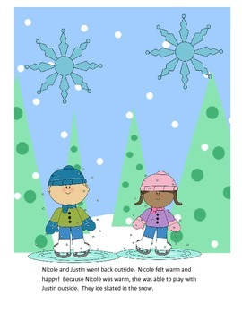 FREEBIE: Winter Clothes Story/Sequencing