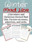 FREEBIE: Winter Mad Libs Pack!