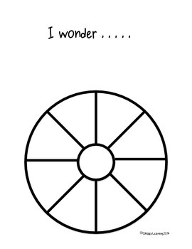 {FREEBIE} Wonder Wheel Graphic Organizer