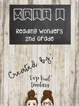 FREEBIE....Wonders 2nd Grade Unit 1 Week 1 Posters