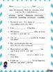 FREEBIE!! - Wonders Vocabulary - 3rd Grade Unit 1 Week 3