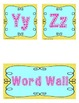 FREEBIE Word Wall Titles A-Z