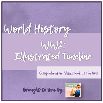 FREEBIE: World War II Illustrated Timeline