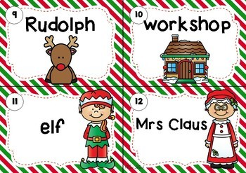 FREEBIE Write The Room- Christmas Theme