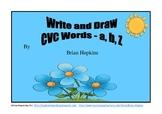 FREEBIE Write and Draw Sample