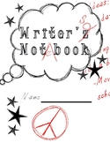 FREEBIE Writer's Notebook Cover Page