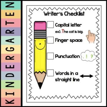Writers Checklist