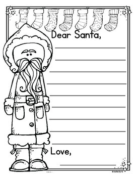 FREEBIE! - Writing Activities - December Pretty Papers & Prompts
