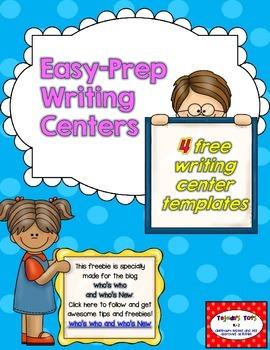 FREEBIE: Writing Center Printables