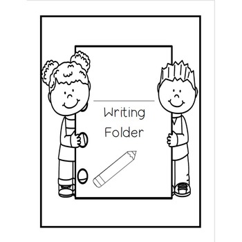 FREEBIE! Writing Folder Covers!
