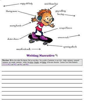 FREEBIE!  Writing Narrative