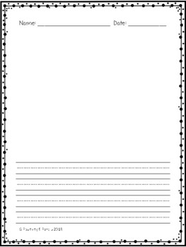 FREEBIE Writing Pages and Journal Covers