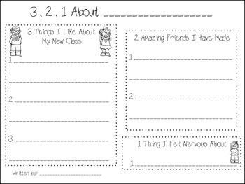FREEBIE Writing Journal - a month by month writers workshop samples