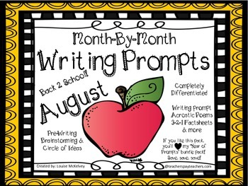FREEBIE Writing Journal - a month by month writers worksho
