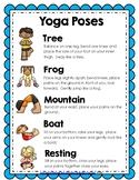 FREEBIE Yoga Poses Poster