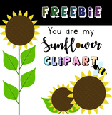 FREEBIE - You Are My Sunflower Clipart