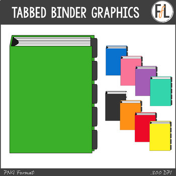 3 Ring Binder Clipart