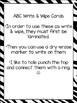 Zoo Animals Alphabet Write & Wipe