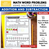FREEBIE - Word Problems within 10