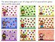 FREEBIE colorful winter bump game (addition and subtraction within 20)